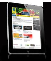 Webdesign für iPad